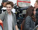 Pictures from the set of `new Moon`