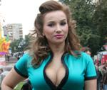 Anfisa Chekhov admired forms of Dita von Teese