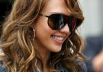 Jessica Alba showed her figure after giving birth